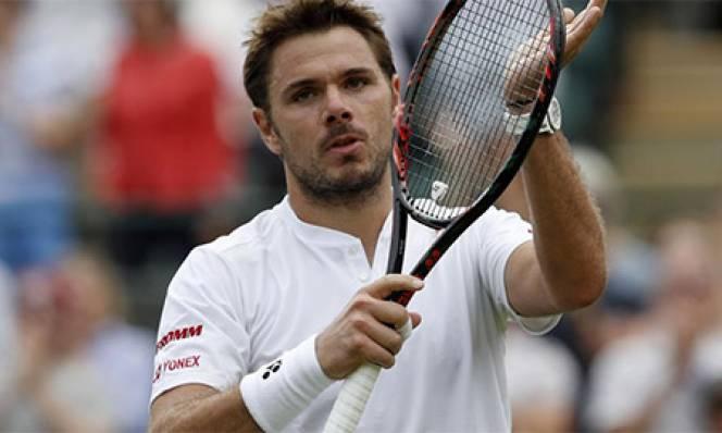 Wawrinka bất ngờ bị loại ngay ở vòng 2 Wimbledon 2016