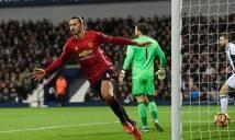 Ibrahimovic lập cú đúp, MU thắng dễ West Brom