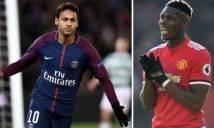 NÓNG: Pogba khen Neymar, ngỏ ý hồi hương thi đấu?
