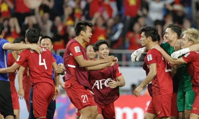 AFC dành lời khen đặc biệt cho ĐT Việt Nam