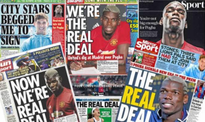 MU mua Pogba, báo Anh hả hê châm biếm Real