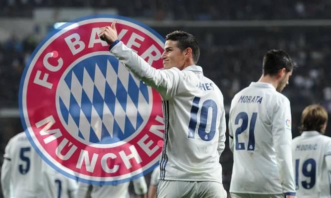 Không phải Man United hay Chelsea, James Rodriguez CHÍNH THỨC gia nhập Bayern Munich