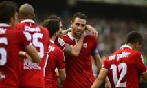 Ngược dòng hạ Betis, Sevilla vượt Barca để chia ngôi đầu với Real