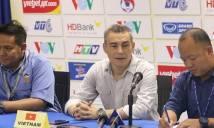 HLV ĐT futsal Việt Nam nói gì khi thua sốc Malaysia?