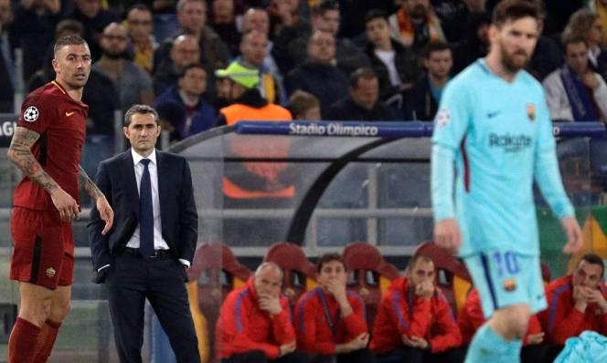 Messi nổi nóng, tương lai Valverde bấp bênh