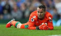 Lão tướng của Everton lập kỷ lục buồn trong trận thua Stoke