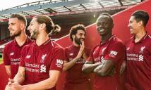 NÓNG: Liverpool ra mắt áo đấu mùa giải 2018-2019
