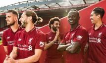 NÓNG: Liverpool ra mắt áo đấu mùa giải 2018-2019