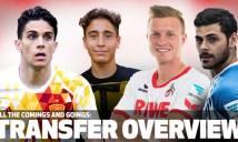 Cập nhật danh sách chuyển nhượng 18 CLB Bundesliga hè 2016/17