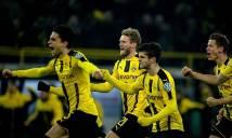 Dortmund vào tứ kết Cúp Quốc gia Đức sau màn đấu súng căng thẳng