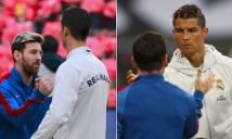 Ronaldo có thèm thuồng khi thấy Messi 'lên đỉnh' từ xa?