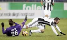 Thua Fiorentina: Bệnh 'cảm lạnh' khi xa nhà của Lão bà tái phát