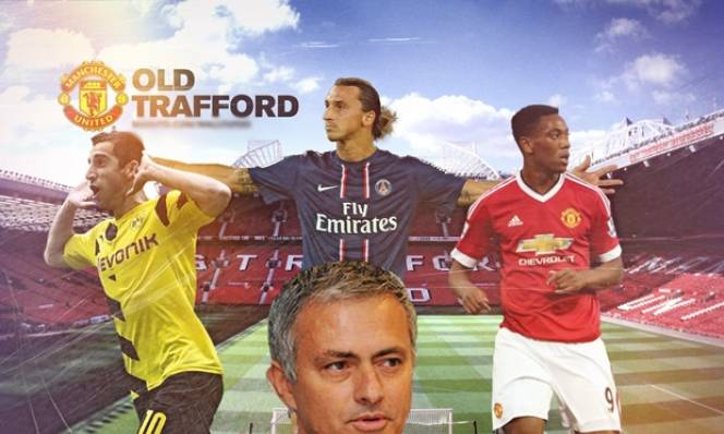 Hai đội hình sẽ đưa Mourinho thăng hoa cùng MU