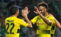 Aubameyang lập cú đúp, Dortmund nhàn nhã hạ AC Milan
