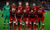Nghiền nát Spartak Moscow 7-0, Liverpool phá vỡ kỉ lục 19 năm của Man Utd
