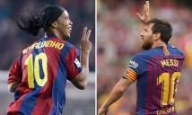 Messi bóng gió về kế hoạch giải nghệ, Ronaldinho đòi treo áo số 10