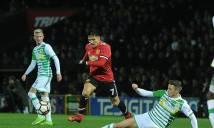 Kết quả bóng đá hôm nay 27/1: Man United đại thắng trong ngày Alexis Sanchez ra mắt