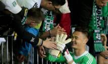 Bị V.League rũ bỏ, cựu thủ môn U19 Việt Nam lọt đội hình tiêu biểu ở giải VĐQG Czech