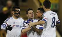 Thắng Norwich, Chelsea nối dài chuỗi bất bại