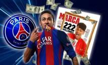 Cha của Neymar sang Paris để đàm phán với PSG