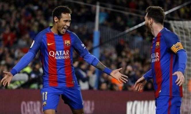 Neymar tin tương lai của Messi là ở Barca