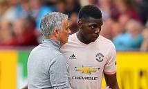 Mourinho: 'Nếu Pogba muốn ra đi, Raiola hãy đến gặp tôi'