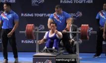 Nhà vô địch Paralympic Lê Văn Công dễ dàng giành HCV tại ASEAN Para Games