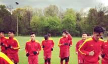 U20 VN thoải mái trước trận gặp U21 Roda JC