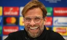 Jurgen Klopp mừng rỡ với lá thăm của Liverpool