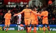 Trực tiếp Liverpool - Stoke City: Đôi công quyết liệt