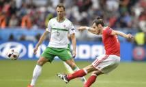 Xứ Wales - Bắc Ireland: Thắng nhọc nhờ Bale