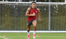 Alexis Sanchez trở lại London, hội quân cùng Arsenal