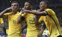 Brazil hé lộ tam tấu sẵn sàng khuynh đảo World Cup 2018?