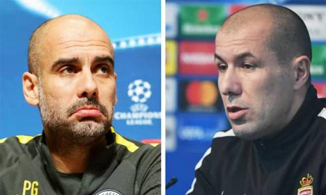 Pep Guardiola vs Leonardo Jardim: Hai mảng đối ngược