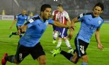 Nhận định Paraguay vs Uruguay 07h00, 06/09 (Vòng loại World Cup 2018 khu vực Nam Mỹ)
