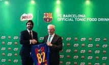 Barca và hợp đồng ý nghĩa với MILO