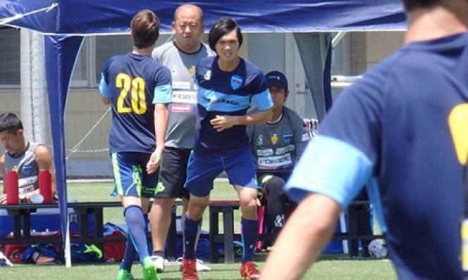 Tuấn Anh tái xuất trong màu áo Yokohama FC
