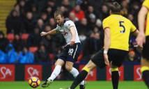 Kane và Alli lập cú đúp, giúp Tottenham đè bẹp Watford