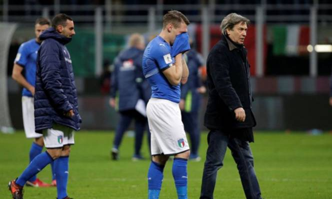 Báo chí Ý sốc trước 'thảm họa' của tuyển quốc gia