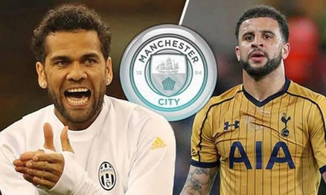 Man City muốn chiêu mộ 3 hậu vệ trước khi đi du đấu