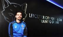 Leicester chính thức trình làng tiền vệ 22 triệu bảng