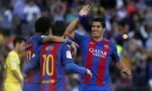 Tam tấu rực sáng, Barca đè bẹp Villarreal trên sân nhà