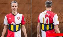 """Mặc áo đấu độc nhất vô nhị để tri ân CLB Arsenal, Van Persie bị CĐV mắng là """"rắn độc"""""""