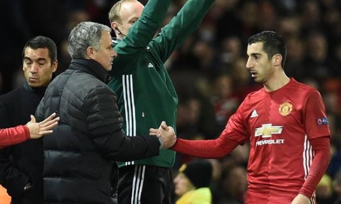 Mourinho đặc biết khen Mkhitaryan