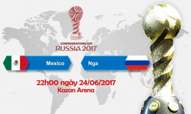 Mexico vs Nga, 22h00 ngày 24/6: Chỉ cần hòa là đủ