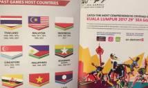 SEA Games 29: Bộ trưởng Malaysia lên tiếng xin lỗi về sự cố in nhầm cờ Indonesia