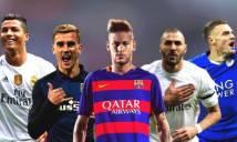Ai sẽ 'chung mâm' với Messi và Ronaldo tranh QBV?