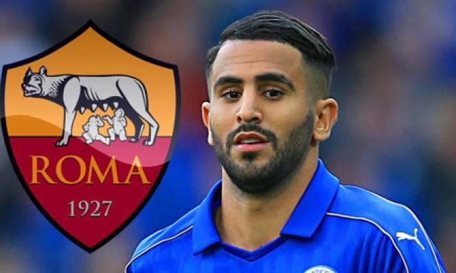 Roma hỏi mua Mahrez bằng 35 triệu euro