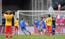Benevento chính thức phá kỷ lục 87 năm của MU