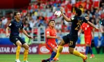 Hòa nhọc nhằn Australia, Chila đụng độ Bồ Đào Nha ở Bán kết Confederation Cup